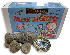 Break your own Geodes! Box of 10 Geodes