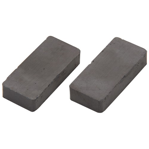 2 ceramic block magnets. Black Bedroom Furniture Sets. Home Design Ideas