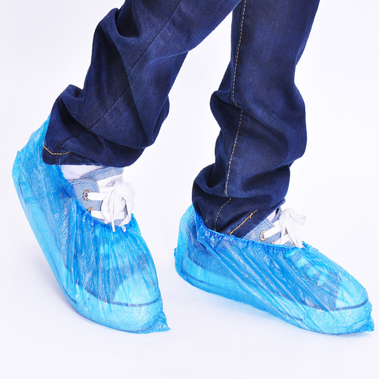 d1b7a181243e Package of 50 Disposable Shoe Covers No Skid