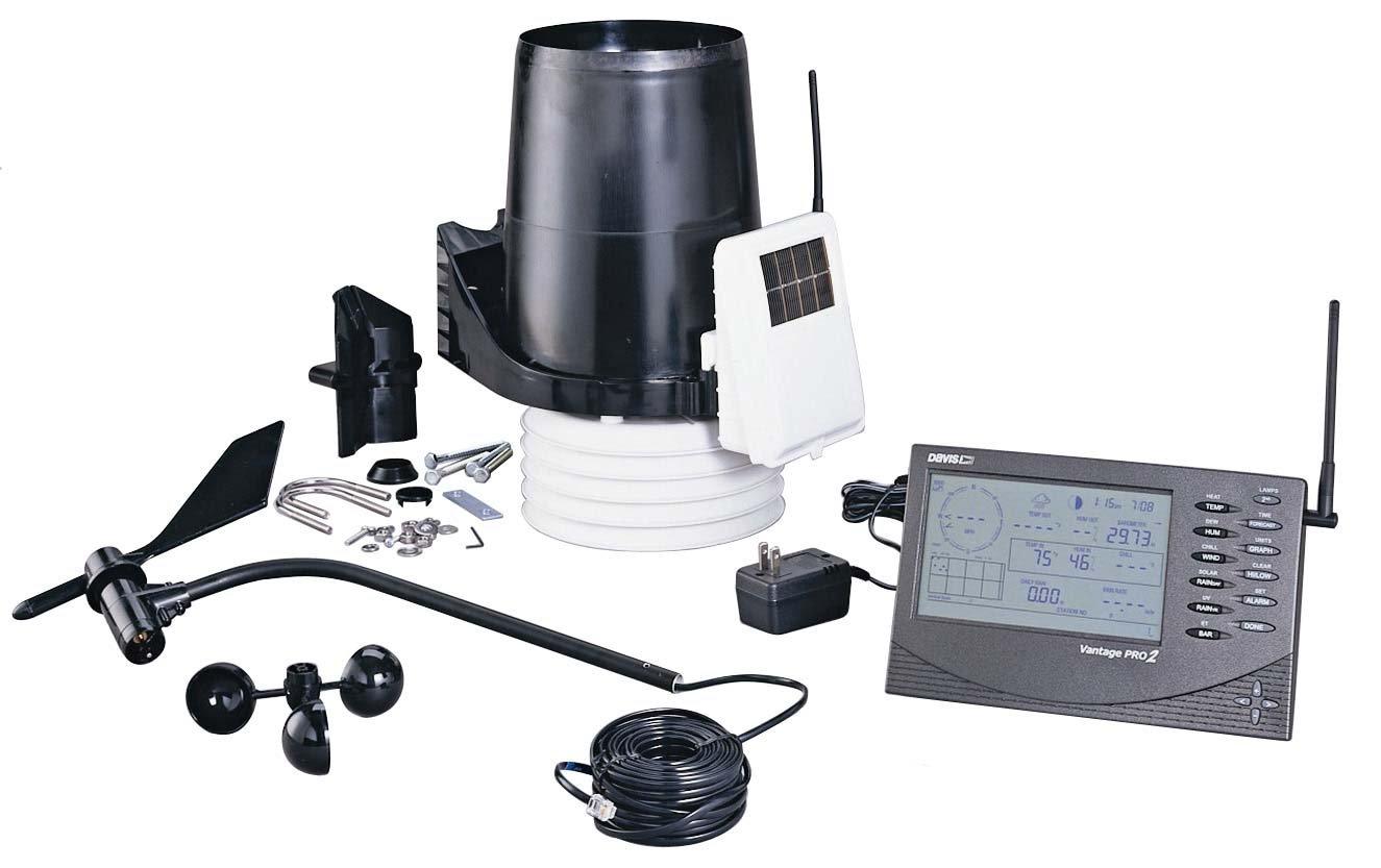 Davis Vantage Pro 2 Wireless Professional Weather Station